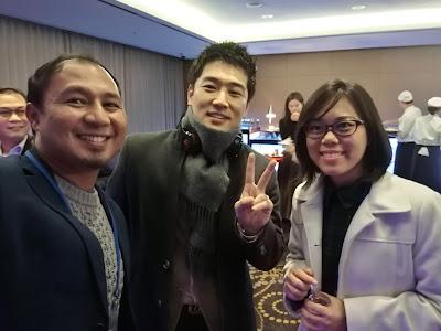 Pembentangan Antarabangsa di SSAEM 2016, Korea