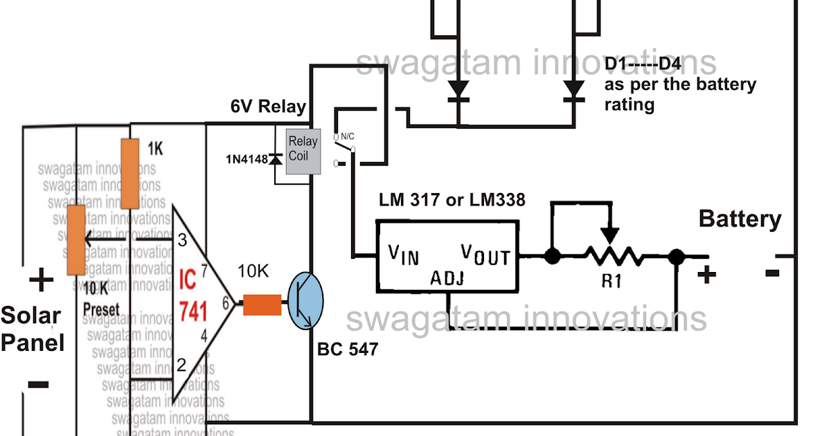 12v battery backup charging circuit