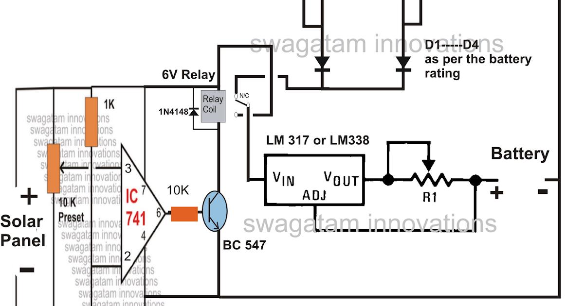 12v battery backup charging circuit