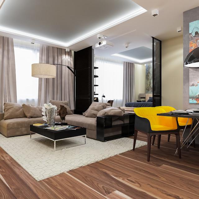 Thiết kế chung cư đẹp - Mẫu số 3