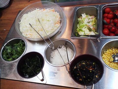 ビュッフェコーナー:サラダ3 ステーキガスト一宮尾西店3回目