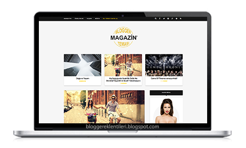Blogger Magazin Teması
