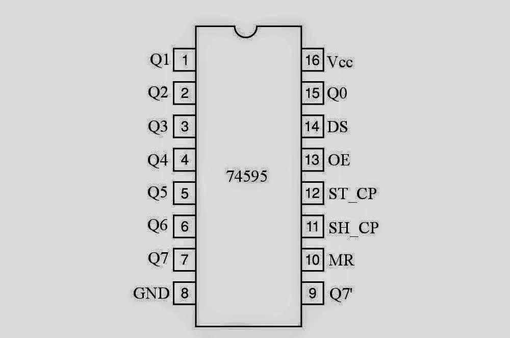 segment led displays circuit diagram electronics pinterest led