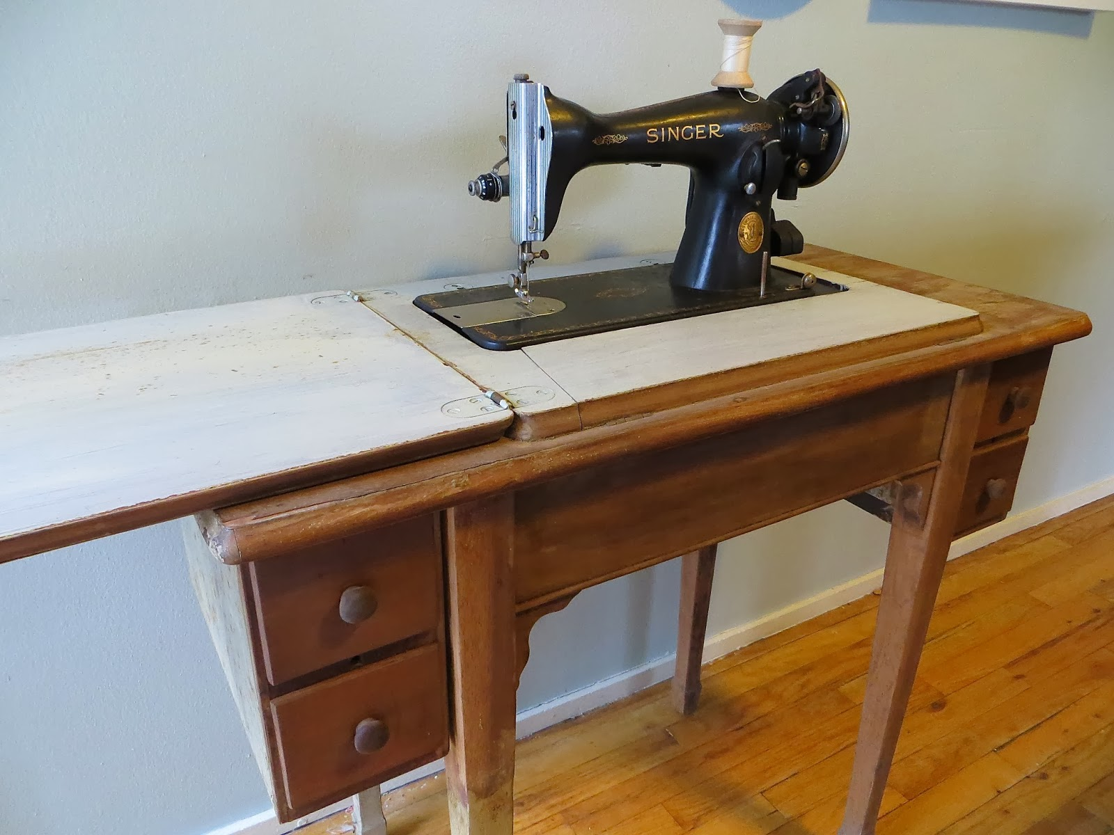 The Project Lady Part 1 Singer Sewing Machine And