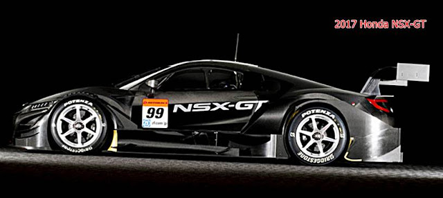 2017 Honda NSX-GT Review, Specification, Price