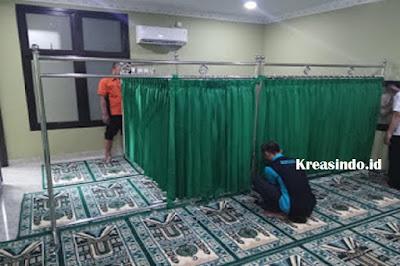 Cara Bongkar Pasang Hijab Masjid Stainless Kami Siap Menerima Pesanan