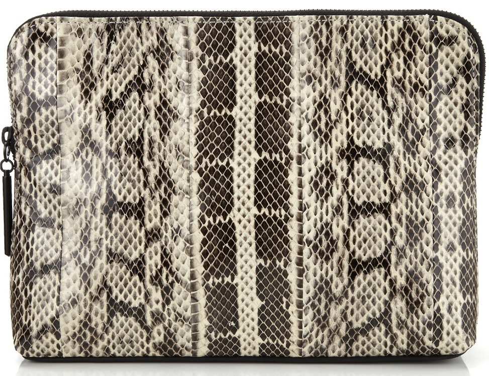 Phillip Lim 3.1 Snakeskin Clutch Bag on Avenue 32