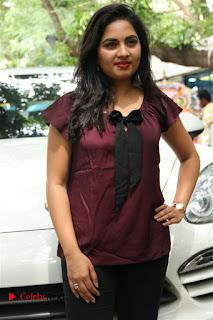 Actress Srusthi Dange Pictures at Dharmadurai Pressmeet  0008.jpg