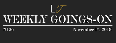 Weekly Goings-On #136 - Blackpool Hotels Newsletter - Blackpool Shows and Events November 2 to November 8