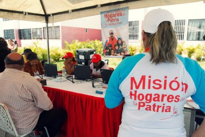 Cómo registrarse o  inscribirse en la Mision Hogares de la Patria en Venezuela