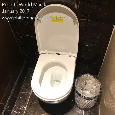 Resorts World Manila Public Toilet