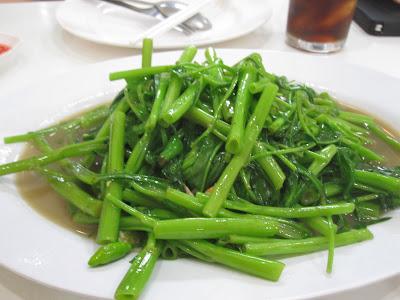 Bangkok, Phaiboon Seafood, kang kong