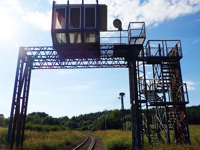 Dworzec w Łupkowie ma też punkt obserwacyjny!