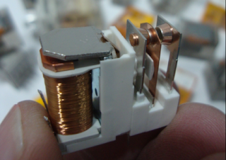 bobine de cobre de relés