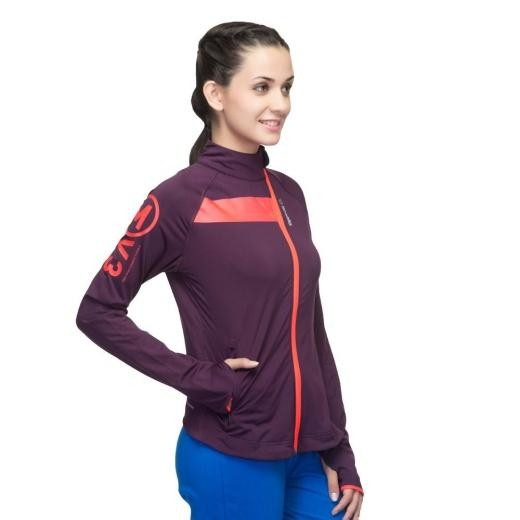 Baju Olahraga Wanita Lengan Panjang Reebok