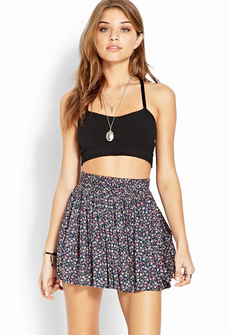 Atractivas faldas cortas de temporada Moda 2014 Vestidos Moda