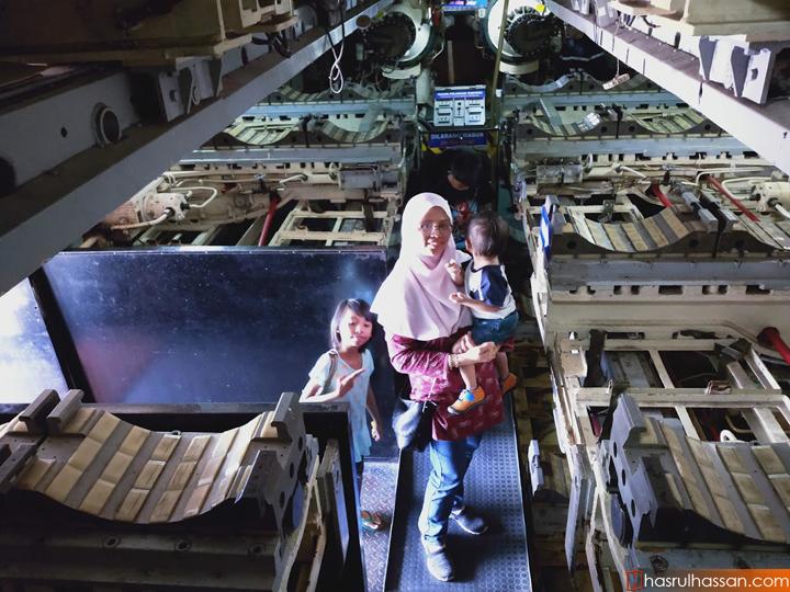 Muzium Kapal Selam di Pantai Klebang, Melaka