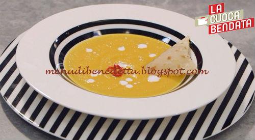 La Cuoca Bendata - Vellutata di carote e zenzero ricetta Parodi