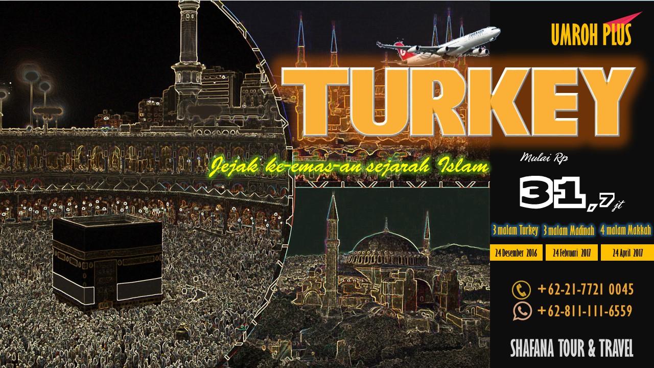 Paket Umroh Plus Turkey