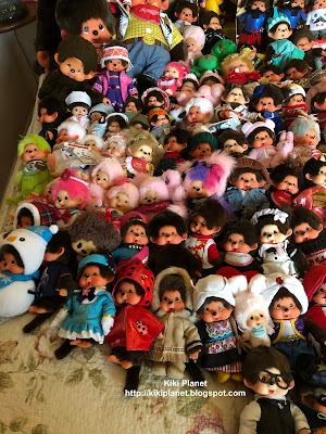 kiki monchhichi collection