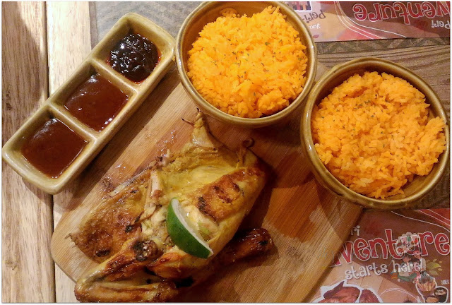 Half Chicken with Two Sides from Peri-Peri Charcoal Chicken at Robinsons Manila