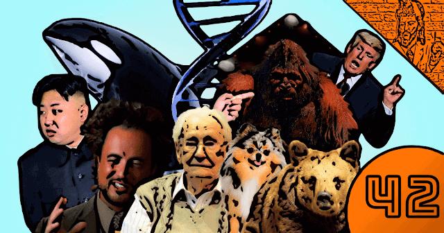 QN NEWS #42 - Yeti, DNA, Orcas, Trump, OVNIs e Nazismo