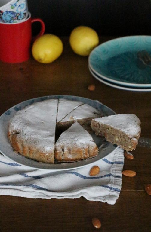 Vegan Almondcake