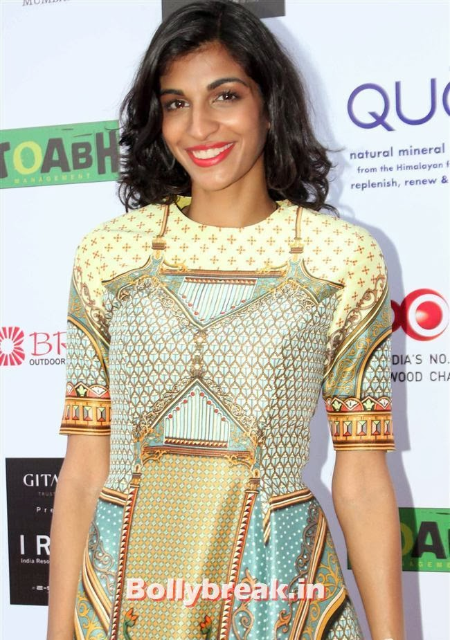 Anushka Manchanda, Top Bollywood Celebs at India Resortwear Fashion Week 2013