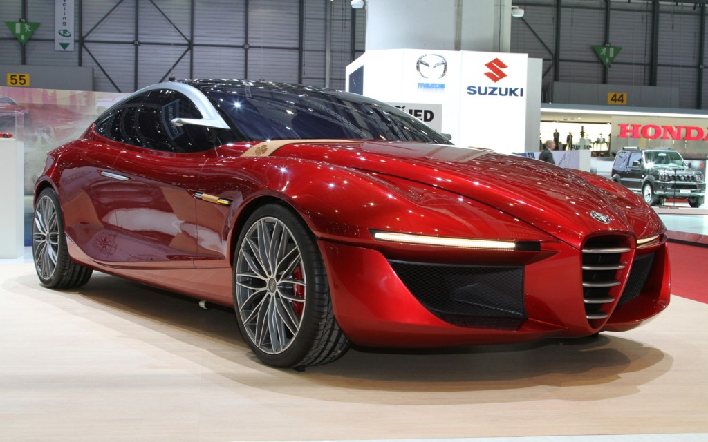 Alfa Romeos Concept Car In Collaboration With Students