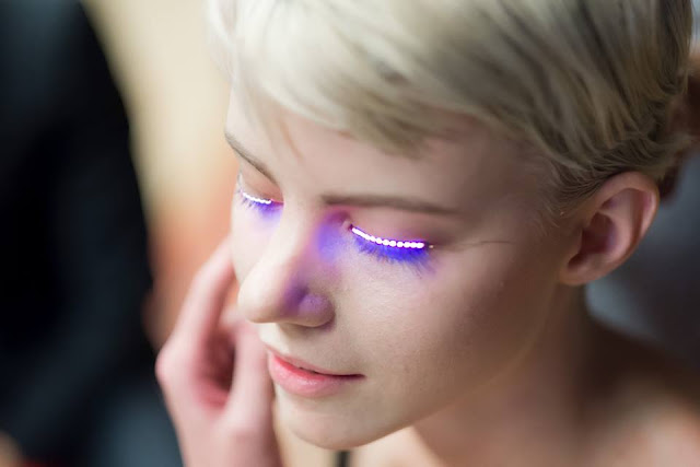 LED eyelashes to be the new beauty trend - lawson james blog entertainment news