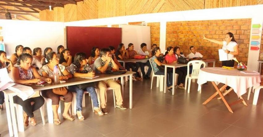 DRE San Martín socializa nuevo currículo nacional a más de 850 docentes del Proyecto «Enseñar es Liderar» - www.dresanmartin.gob.pe