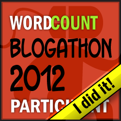 2012 Blogathon - I Did It!