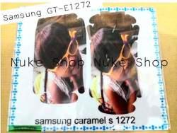 garskin, skin, skotlet, stiker, gambar tempel, handphone samsung GT - E1272 custom foto