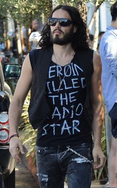Russell Brand - 'Heroin Killed The Radio Star' shirt