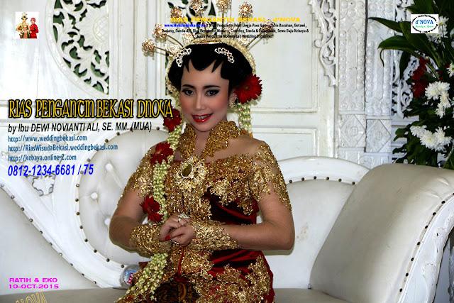 Rias Pengantin SOLO PUTRI - Sanggar Make Up Rias Pengantin Bekasi dNova Bekasi Utara - Ratih & Eko (5)