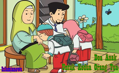 Lafadz Bacaan Doa Untuk Kedua Orang Tua Bahasa Arab Lengkap Artinya