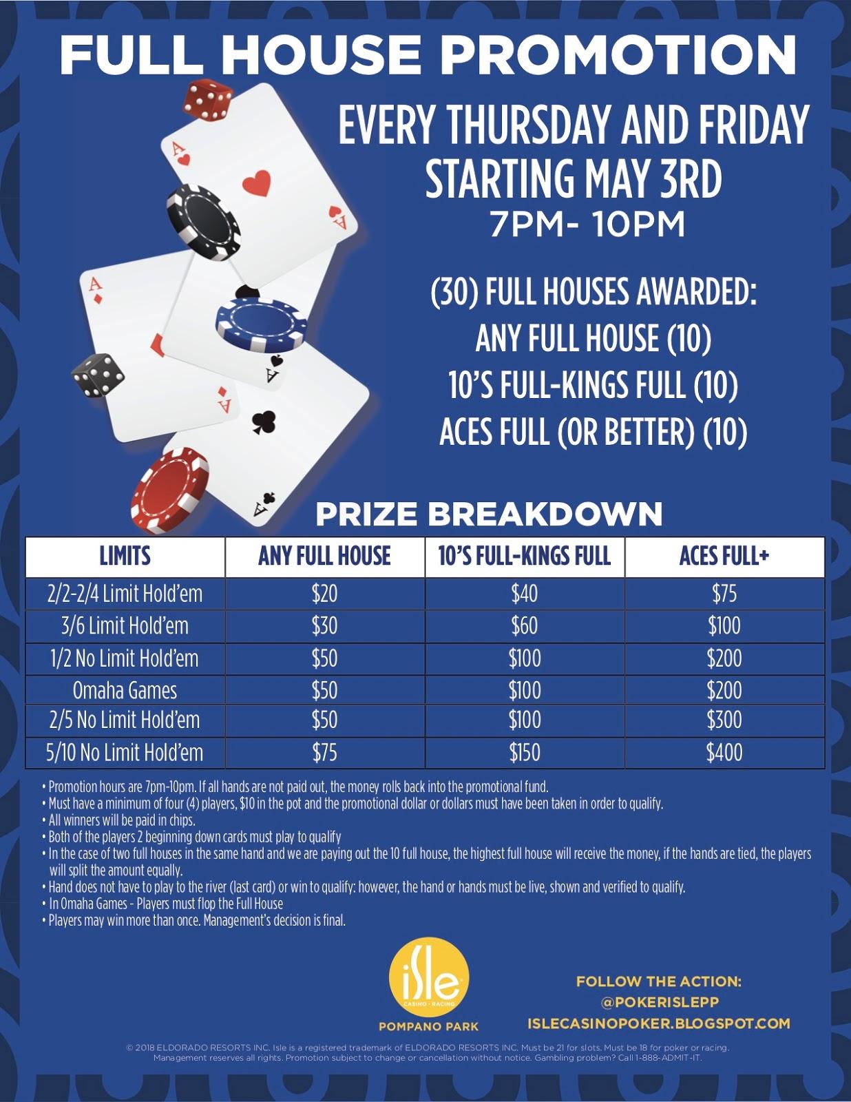 Isle Casino Poker Promotions