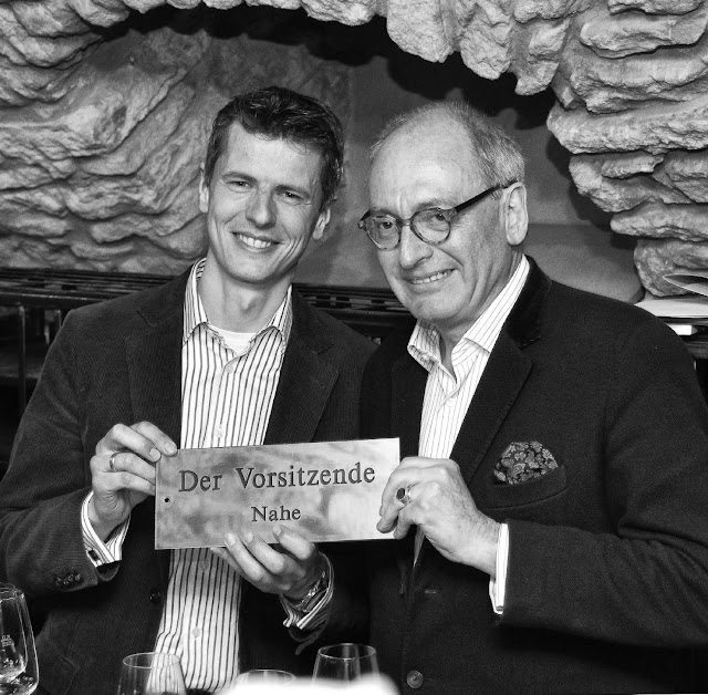 Winzer Frank Schönleber und Armin Diel