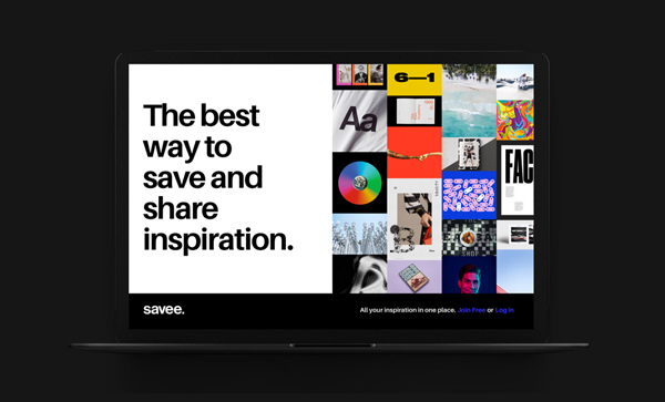 Trend and Inspiration Web Design 2018 - Savee