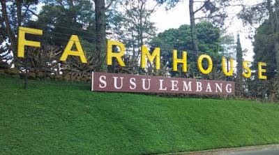 Lokasi Farmhouse Susu Lembang