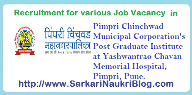 Naukri Vacancy Recruitment PCMC PGI YCMH