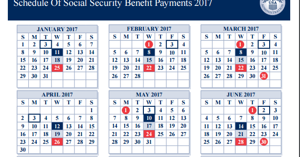 Social security check dates in Melbourne