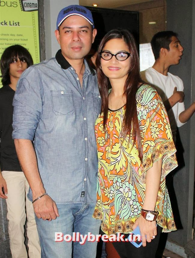 Atul Agnihotri and Alvira Agnihotri, Bollywood Celebs at Jai Ho Special Screening