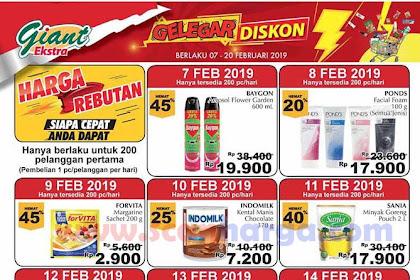 Promo Giant Harga Rebutan Gelegar Diskon Tebus Murah Terbaru 7 - 20 Februari 2019