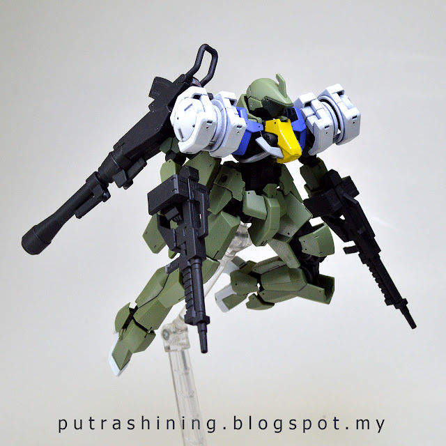 HGIBO 1/144 Graze Full Armor Custom by Putra Shining