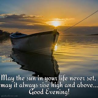 iyi akşamlar mesajı ingilizce