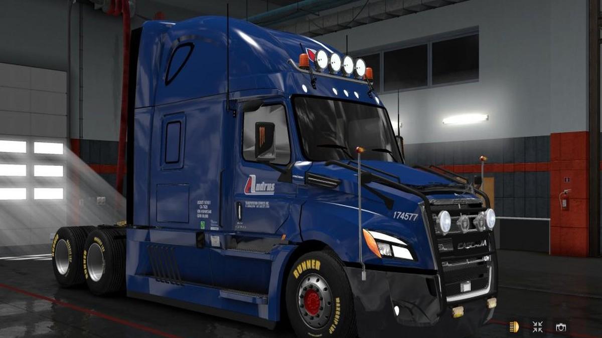 Freightliner Cascadia 2018 V 4.4