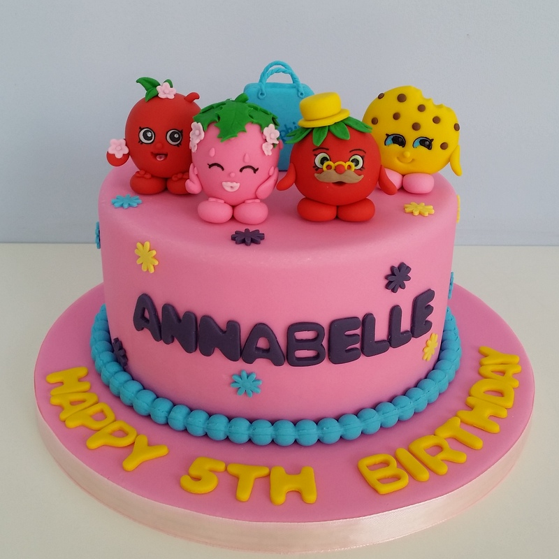 Ideas For Shopkins Cake