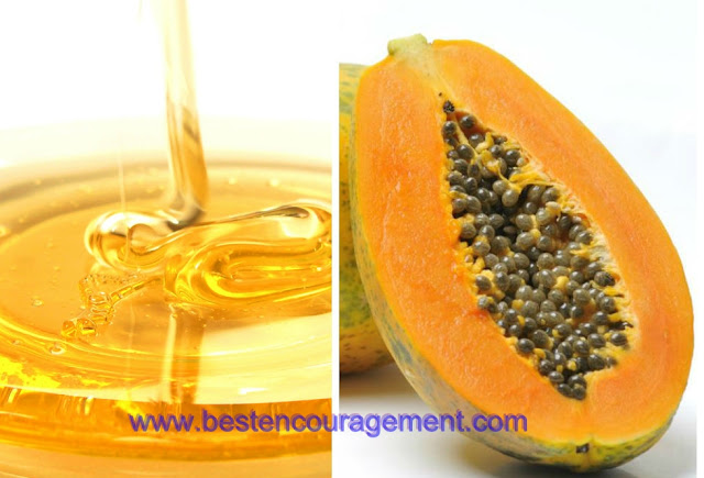 papaya and honey images