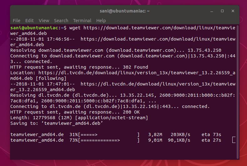 Step by Step : Install TeamViewer 13 2 on Ubuntu 18 04